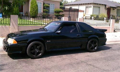 custom 93 mustang gt 5 0 google search cars bikes pinterest 93 mustang and cars. Black Bedroom Furniture Sets. Home Design Ideas