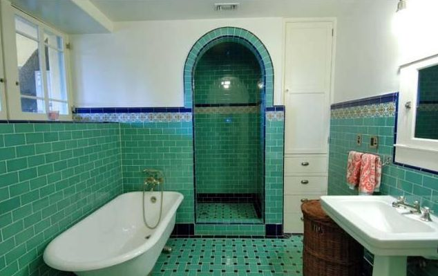 Chrome Art Deco Wall Light For Bathroom Mirrors Or Walls: Best 25+ 1920s Bathroom Ideas On Pinterest
