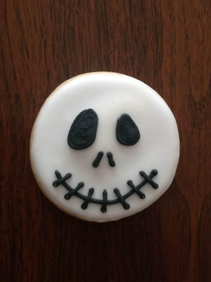 Jack; galletas de mantequilla decoradas con royal icing