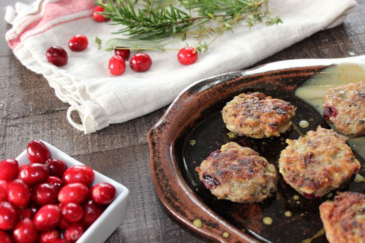 Cranberry Chicken Poppers (Paleo