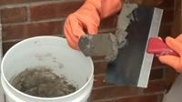 how to fix brick mortar