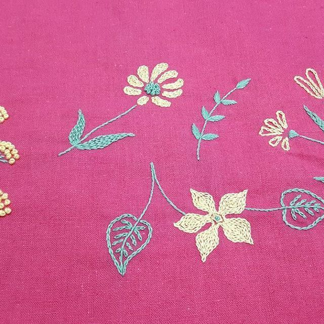 1000+ Images About Small Motifs On Pinterest | Hand Embroidery Hand Embroidery Designs And ...