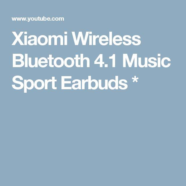 Xiaomi Wireless Bluetooth 4.1 Music Sport Earbuds *