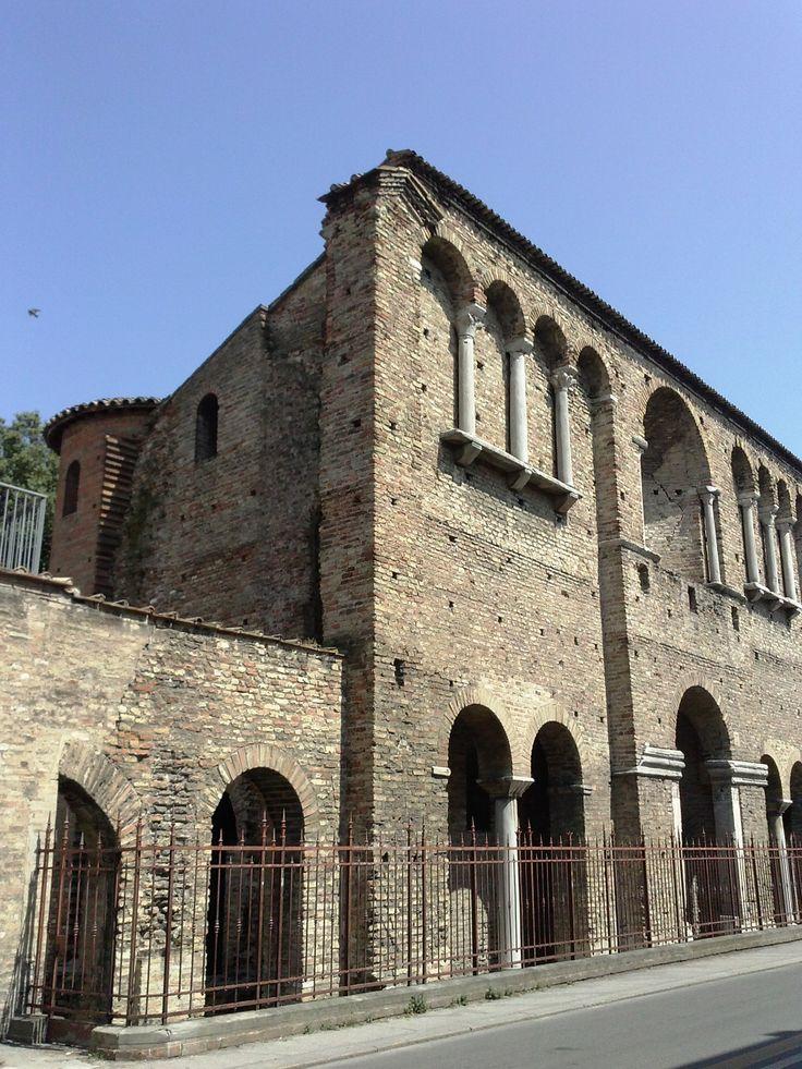 Cosiddetto Palazzo di Teoderico, via di Roma, Ravenna (RA)