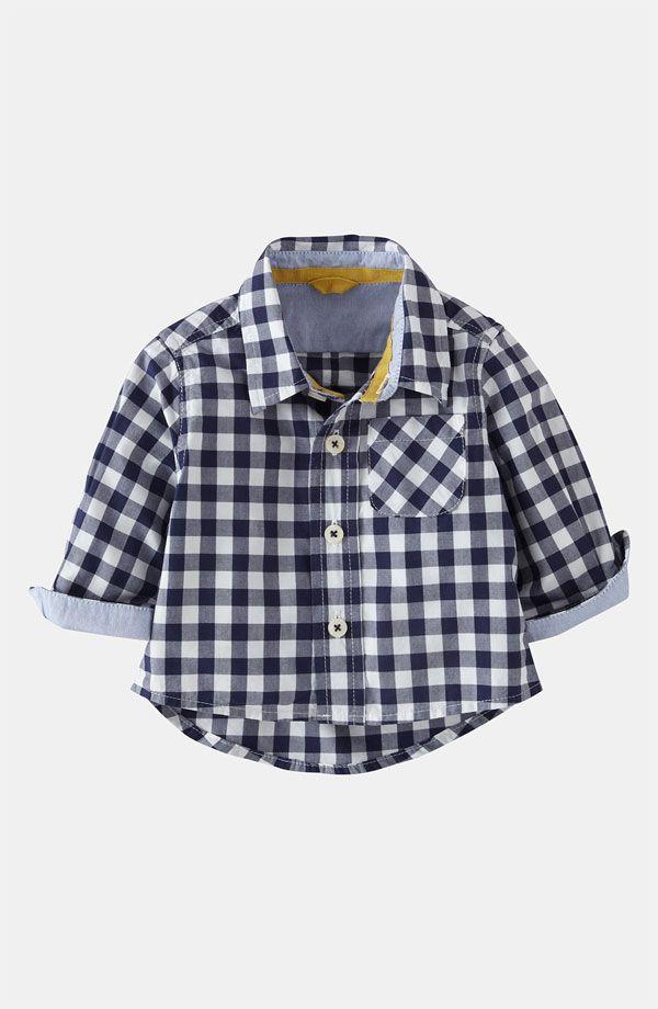 Mini Boden 'Baby' Shirt (Baby) | Nordstrom