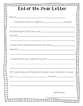 Teacher Appreciation Letter Template From Student on free printable, professional thank you,