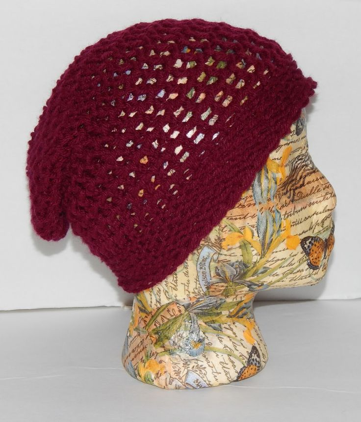 Knitting Loom Hat : Jovial knits loom knit slouchy hat bea s easy beanie pinterest the o jays