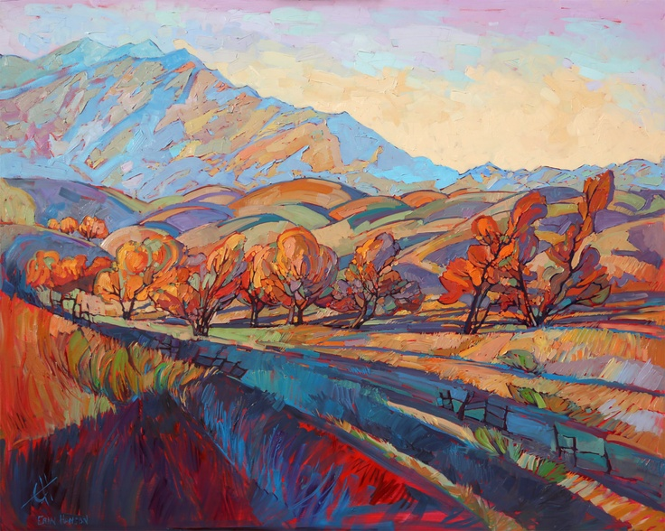 Wine country temecula landscape california impressionism for Paint and wine temecula