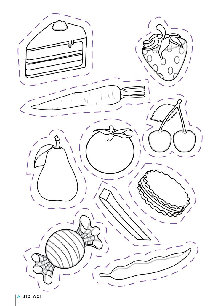 Healthy And Unhealthy Foods Worksheet