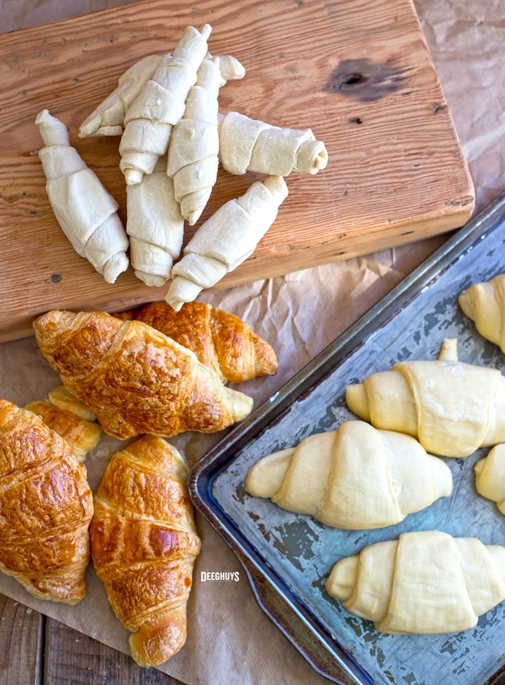 Deeghuys Croissants - So easy to bake THAW | RISE | BAKE