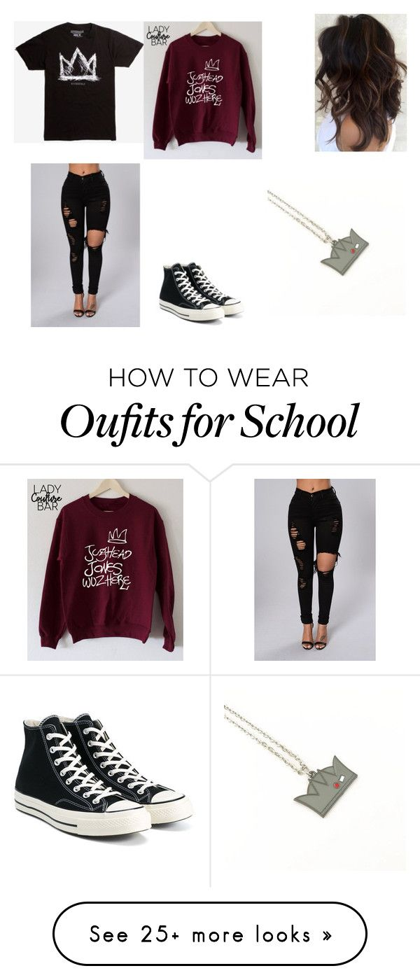 """""""Jughead"""" by dolantwinsgirl on Polyvore featuring Hot Topic and Converse"""