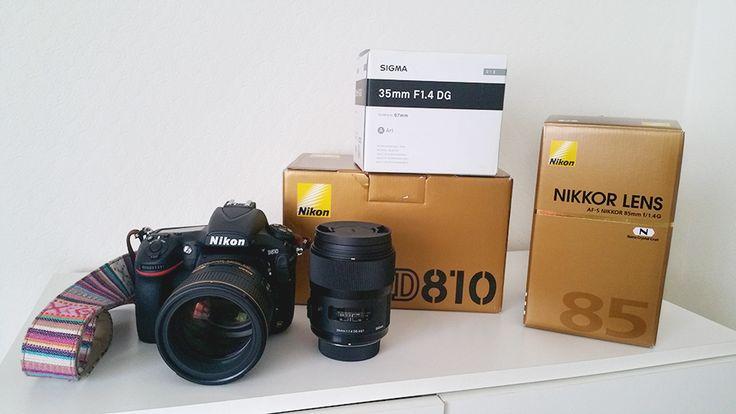 Nikon D810   Nikon 85mm f/1.4G   Sigms 35mm f/1.4 ART