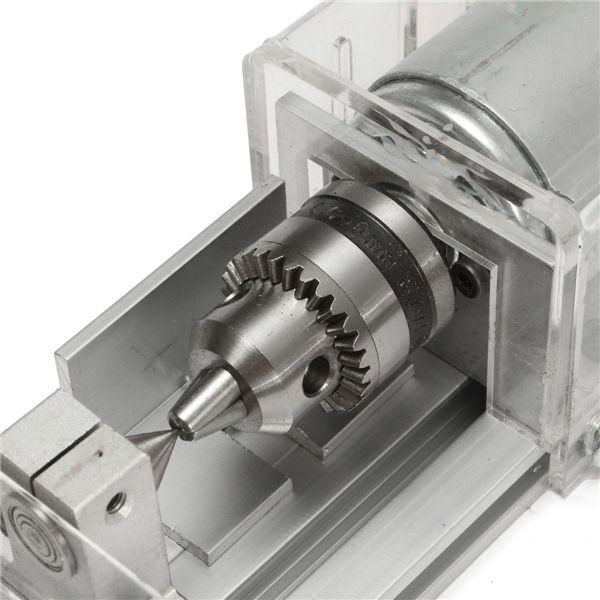 DC 24Vミニ旋盤ビーズマシンポーランド木工DIYツール80 - 100W