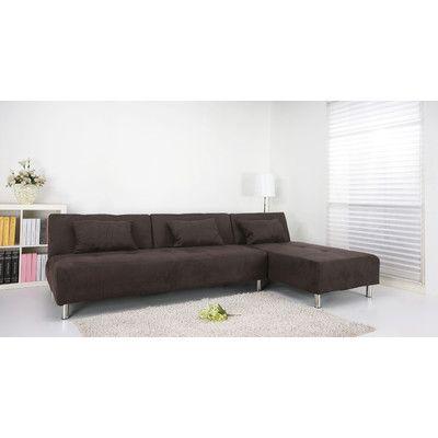 Gold Sparrow Atlanta Convertible Sectional Sleeper Sofa | Wayfair