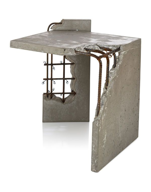 Furniture Table Design best 25+ concrete furniture ideas only on pinterest | concrete