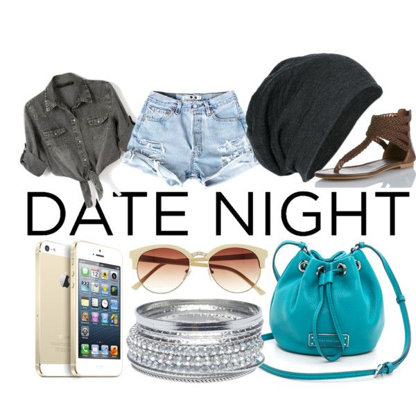"""Beach Date"" by vy-nguyen1218 on Polyvore"