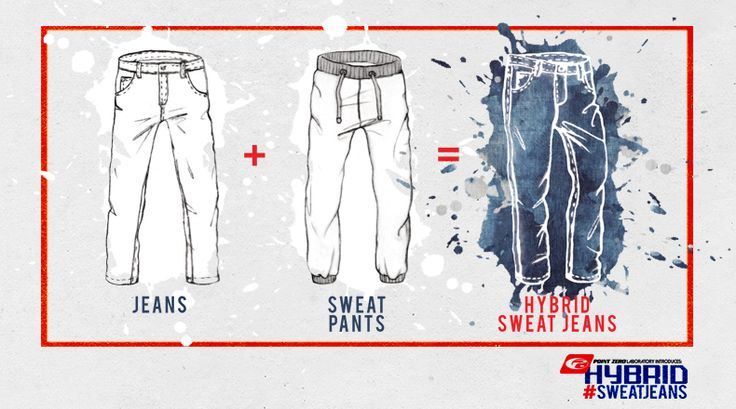Comfort meets style in our Hybrid #SweatJean!  Available at www.pointzero.ca