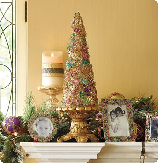 Unique Holiday Decorations: Best 25+ Jeweled Christmas Trees Ideas On Pinterest