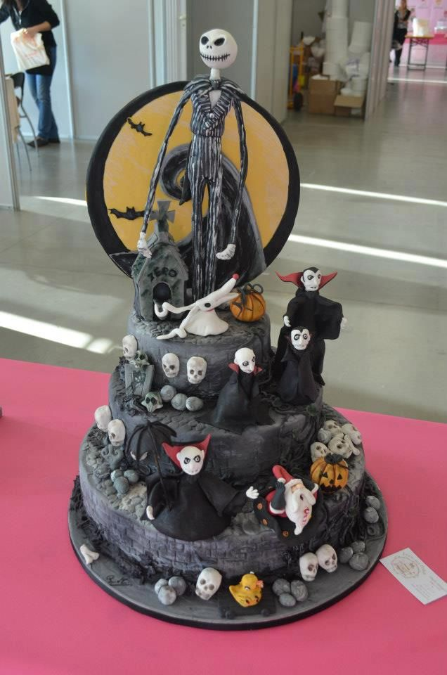 Italian cake's Nightmare Before Christmast Paola Maugeri