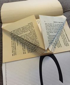 book folding. This tutorial us the best. Thanks