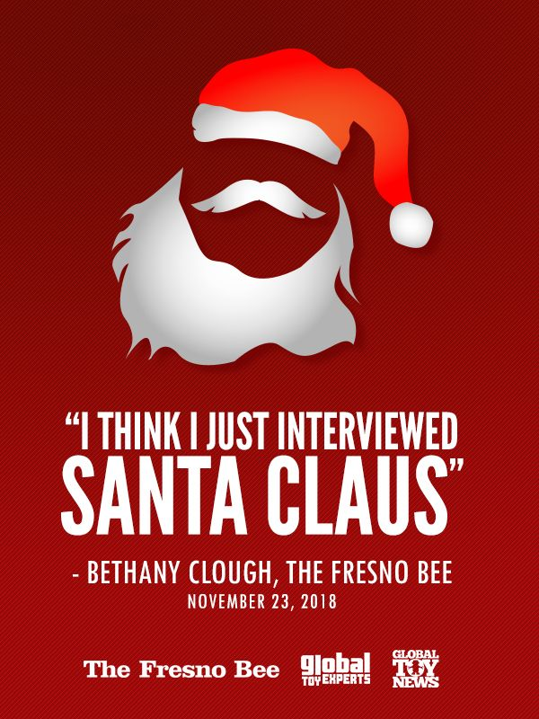 df91177ce19c Just had a member of the press refer to me as a modern day Santa Claus.  Doesn t get any better than that. Thank you Bethany Clough of The Fresno  Bee.