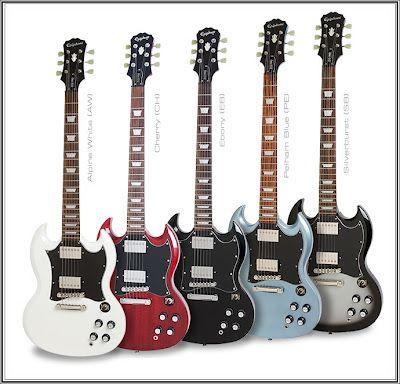 Epiphone SG Guitar Collection