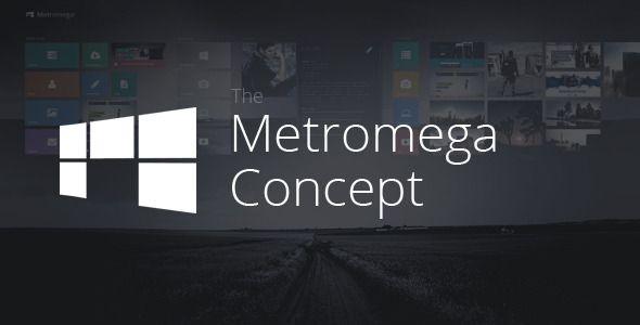 Metromega - Responsive HTML5 Metro Template