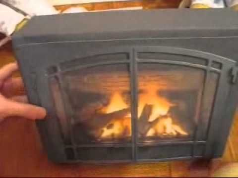 American Girl Doll Fireplace: Just print a Google Image onto sturdy paper and glue onto a cardboard box. Looks 3D! I've always wanted one for Christmastime.