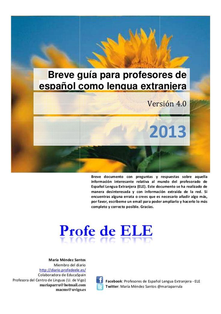 gua-para-profesores-de-espaol-lengua-extranjera-40 by María del Carmen Méndez Santos via Slideshare
