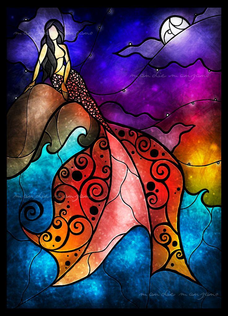 little mermaid | Cool Art | Pinterest