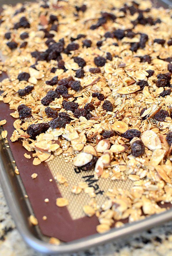 ... Granola on Pinterest | Granola bars, Chewy granola bars and Granola