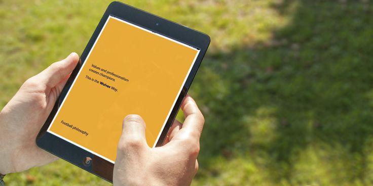 Wolverhampton Wanderers - Design / App / iBook