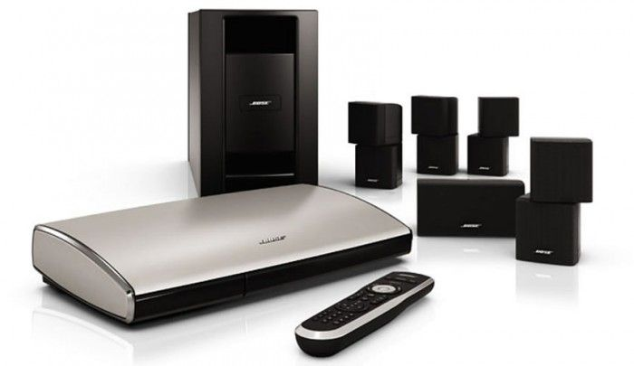 The Bose® LIFESTYLE® T20 home entertainment system offers breakthrough simplicity with the new Unify™ intelligent integration system.