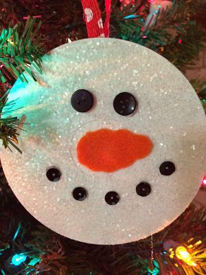 Another cute idea for CD ornaments! Put school picture on the back with the year - good to go!: