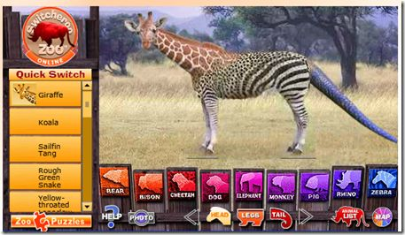 Switcheroo Zoo! http://switchzoo.com/zoo.htm | Integrating ...