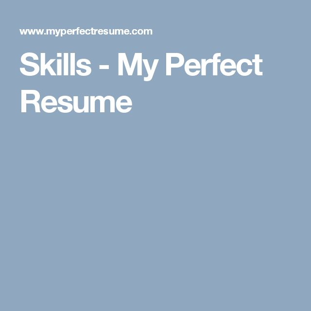 108 best Resumes images on Pinterest Resume, Curriculum and Cv - my perfect resume reviews
