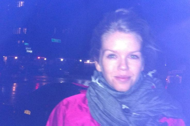 Mercury reporter caught in Hurricane Sandy.