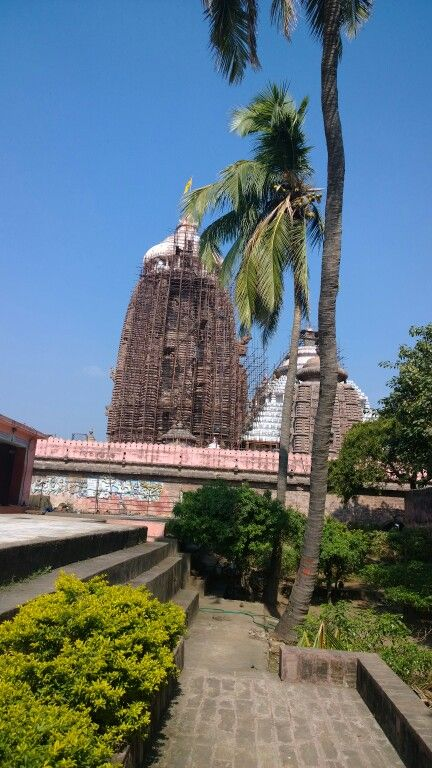 Temple of the Lord of the universe in Puri, Odisha.