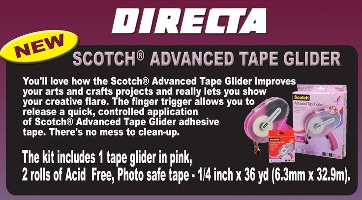 Scotch Advanced Tape Glider! www.directa.co.uk