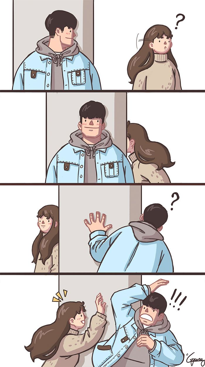 41 Couple Comics That Are Too Relatable If You Have A Clingy And