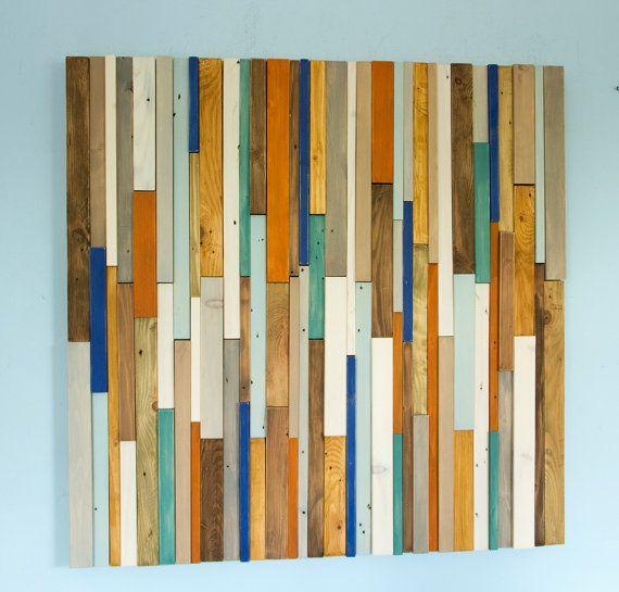 Reclaimed Wood wall Art Industrial wall Art by ArtGlamourSligo