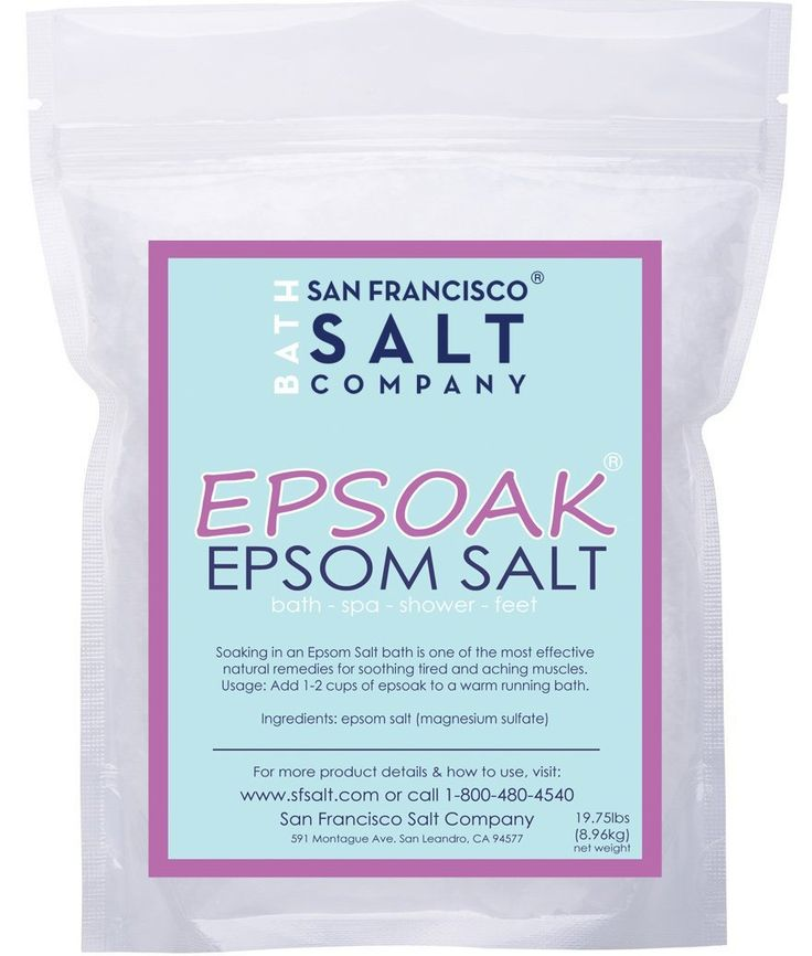 25 Uses for Epsom Salt - HUGE list of some really surprising uses for Epsom Salt!
