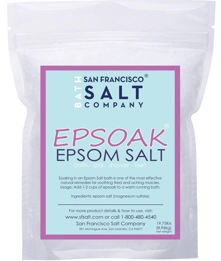 25 Uses for Epsom Salt - HUGE list of some really surprising uses for Epsom Salt!