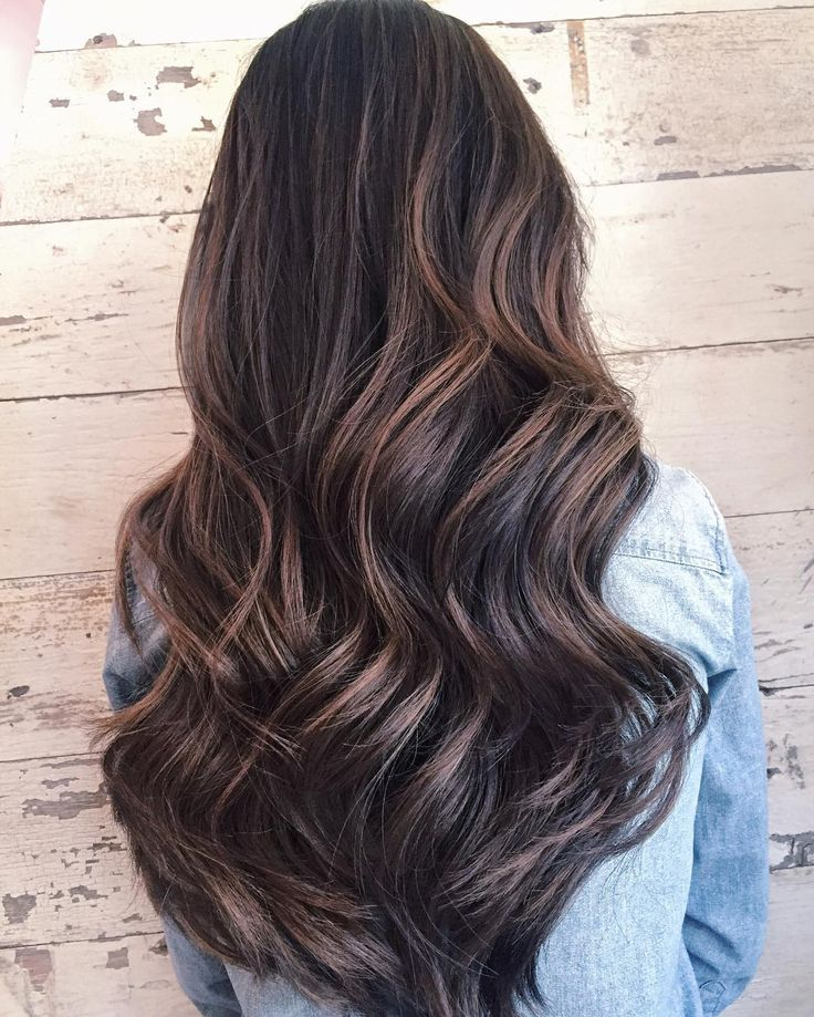 "new season, new  went lighter both in weight & shade (Nick fondly calls this ""milk tea brown"" ☕☕️☕️️) thanks to Graziella @saloncapri. I love subtle highlights that can grow out with natural hair as I only get mine done about twice a year  #balayage #happyfriday #friyay"