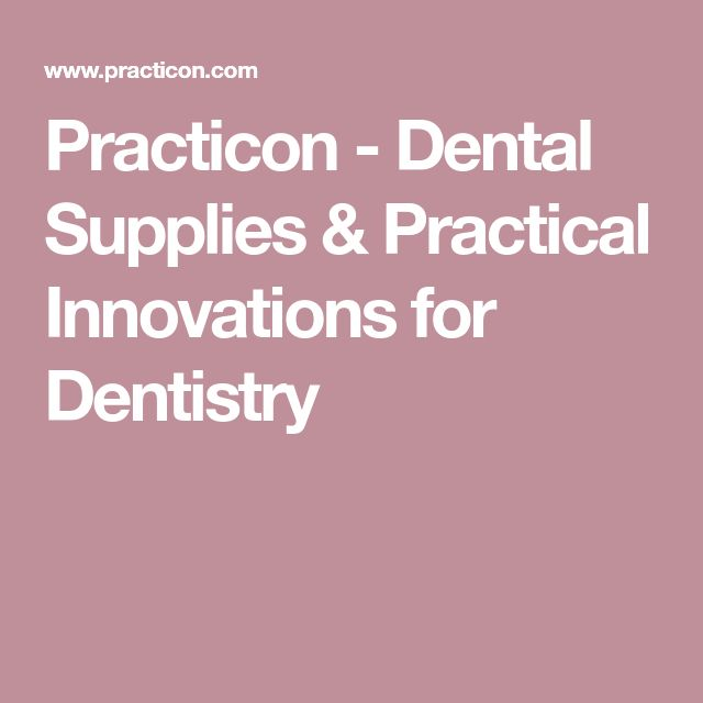 Practicon - Dental Supplies & Practical Innovations for Dentistry