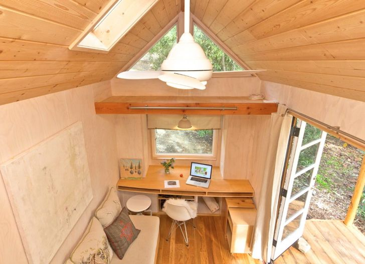 Vinas Mobile Tiny House Is 140 Square Feet Of Pure Charm
