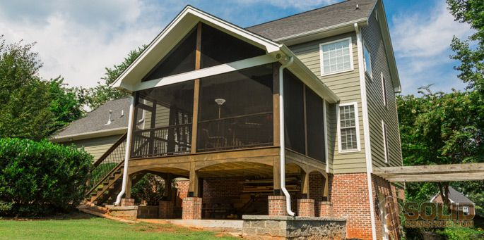 11 best craftsman style house and decorating it images on for Craftsman style screened porch