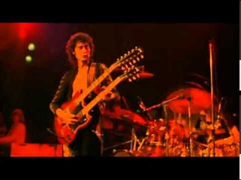 "Led Zeppelin - Stairway To Heaven ( Live, 1973 ) W/ LYRICS This is such an emotional and intense song. The 70""s, a time when so much happened all over the world."