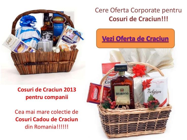 cosuri-de-craciun by gourmetgift.ro via Slideshare