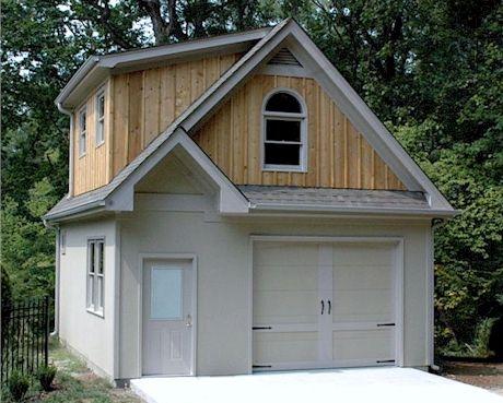 # Bradley Alpine Two-Story Garage